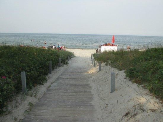 روجارد ستراند هوتل: To the beach