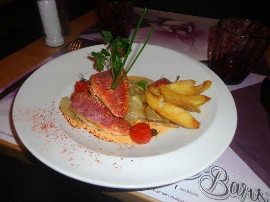 Bo Bars: Filet de rouget