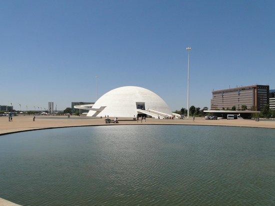 Museu Nacional da Republica: Espelho d'água