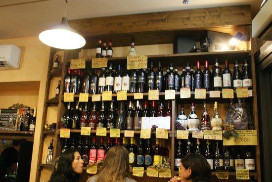 Il Panino del Chianti: vins