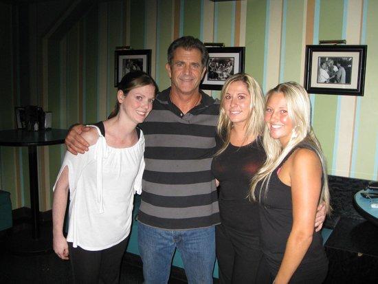 Kings Dining & Entertainment Back Bay: Mel Gibson