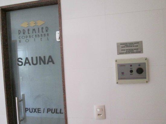 بريمير كوباكابانا هوتل: Sauna