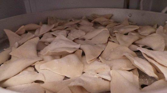 Cute Cafe Kirim Yemek Evi: Potato dumplings, traditional ukrainian dish