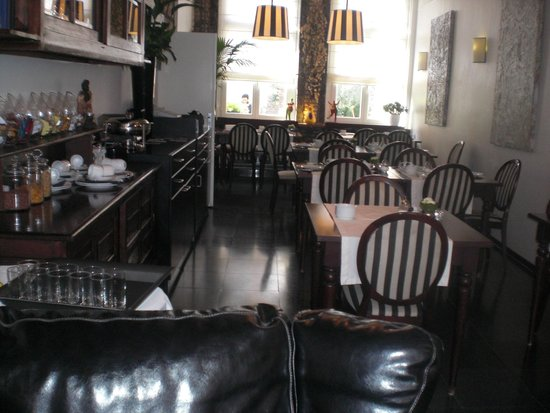 Chambre d'Hôte Rekko: De eetkamer