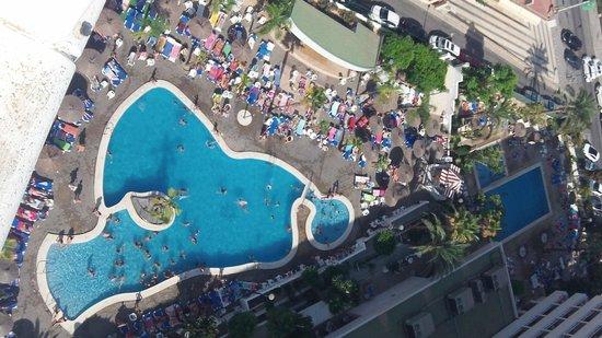 Poseidon Resort: Desde el piso 14