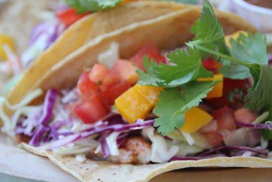 Haggo's Organic Taco: Fish Tacos