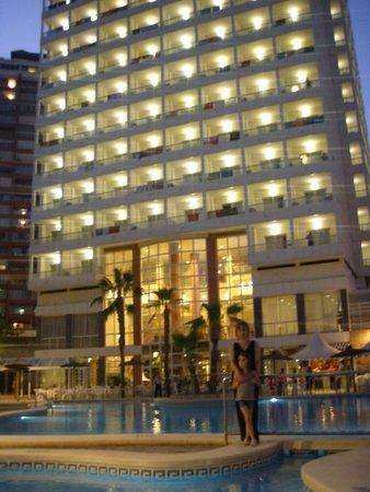 Poseidon Resort: desde la piscina