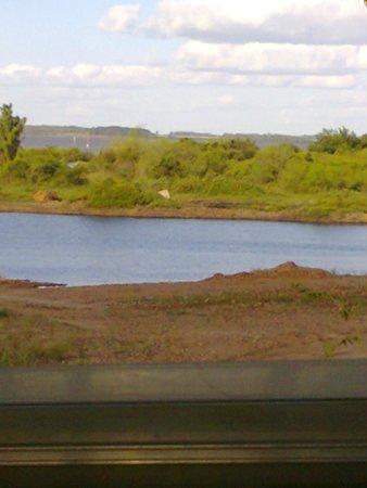 Termas de Federacion: Parte de la laguna