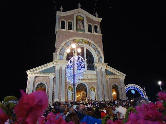 Sanctuary of the Madonna di Tindari: facciata