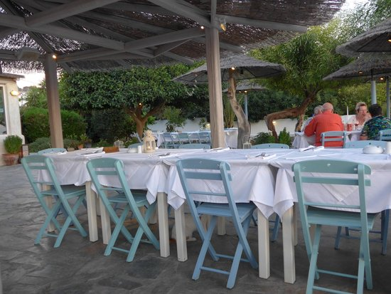 Philosophia Beach Restaurant: Restaurant