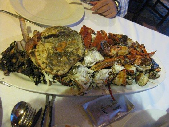 Restaurante El Campanu: Parrillada Mixta Marisco