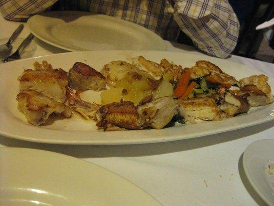 Restaurante El Campanu: Parrillada Mixta Pescado