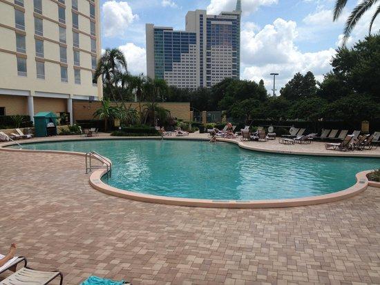 Rosen Plaza Hotel: Nice pool area.