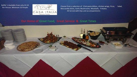 Casa Italia: Buffet