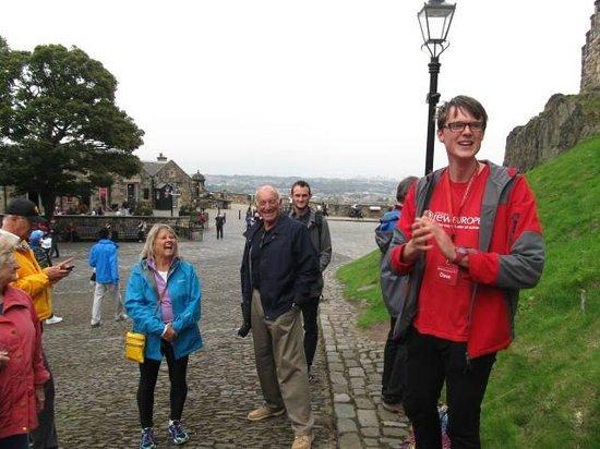 Dave The Guide @ Edinburgh Castle