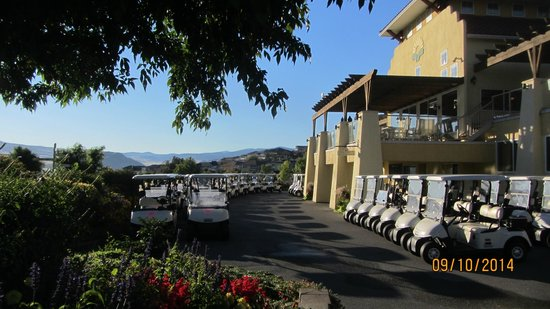 Osoyoos Golf Club: Set up for groups