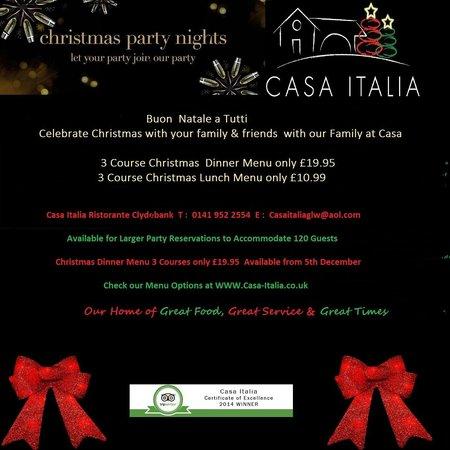 Casa Italia: Christmas 2014
