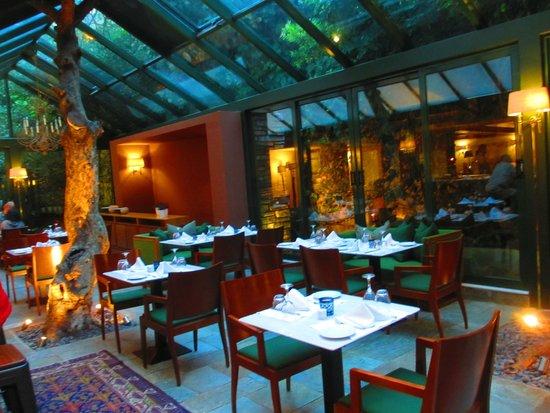 هيروديون أثينا: Atrium Restaurant