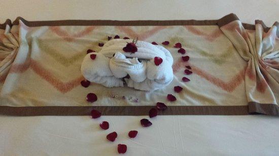 Conrad Bali: Towel art