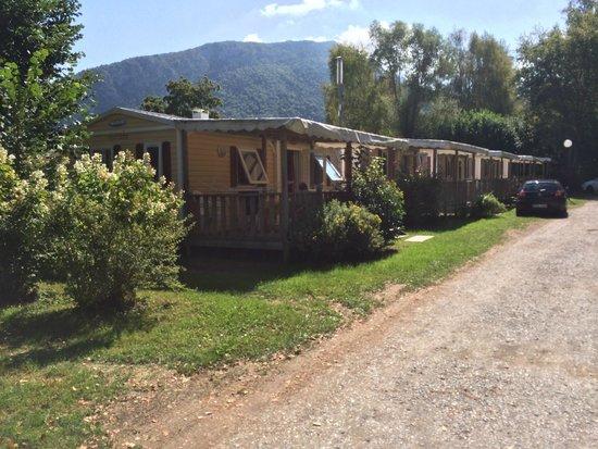 Camping International du Lac d'Annecy: Les mobil home