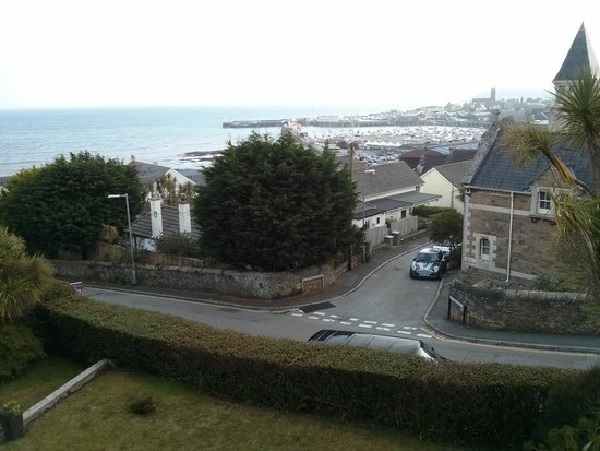 Hotel Penzance: View of harbour from room
