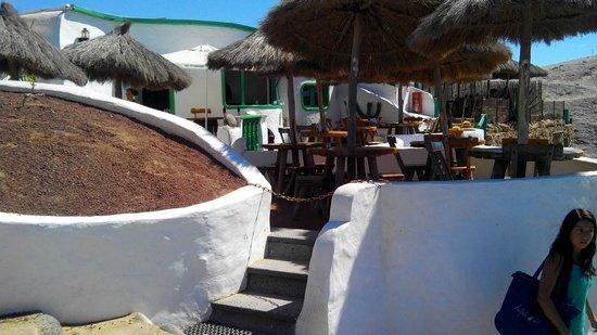 Restaurant Kiosco Arenas: terraza chill out