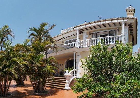 Villa al Alba: Entrada