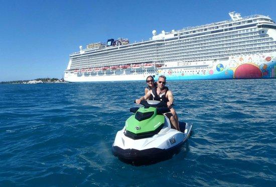 BDA Watersports: Jet Ski Tour