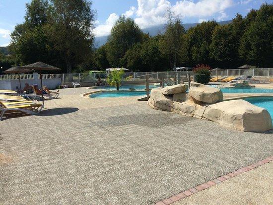 Camping International du Lac d'Annecy: Espace aquatique