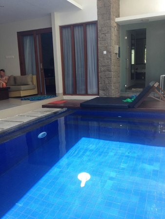 Samaja Beachside Villas: Private pool
