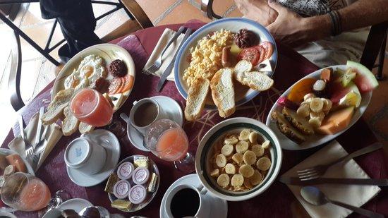 Hotel Patio del Malinche : El mejor desayuno!