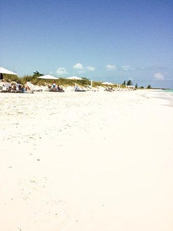 COMO Parrot Cay, Turks and Caicos : powdery sand