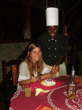 Gîte Guyan: Tallentierter Küchenchef