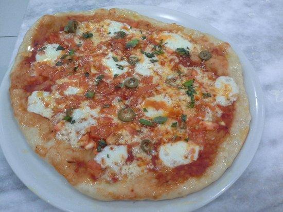 Thomas Bistro: Pizza Mozarella de Buffala
