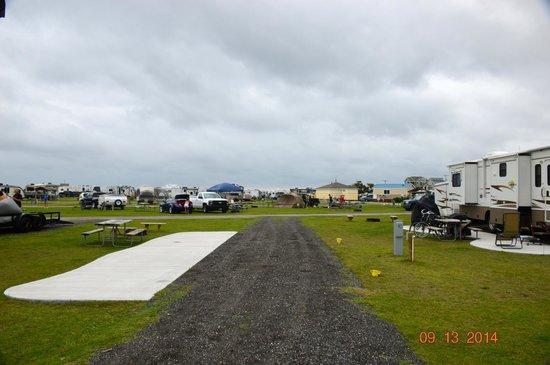Cape Hatteras KOA: Class A site
