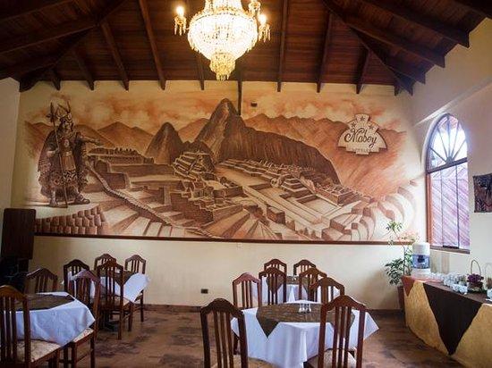 Hotel Mabey Urubamba : The lobby