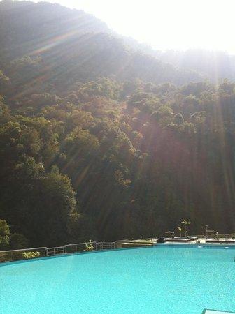 Silks Place Taroko: 飯店泳池