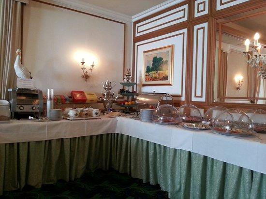 Scherer Hotel: Breakfast buffet