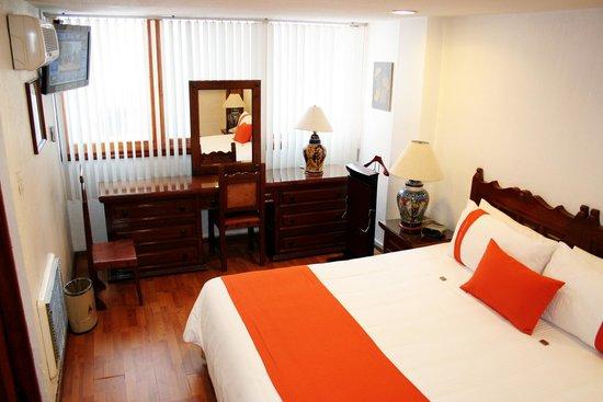 Amberes Suites: RECAMARA SUITE 1 DORMITORIO