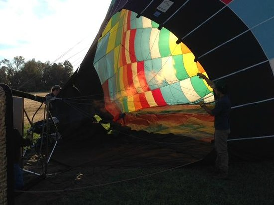 Napa Valley Drifters: It's inflating time...