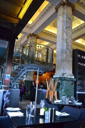 The Scotsman Hotel : Wonderful restaurant in the hotel. The breakfast buffet is also wonderful and worth the price
