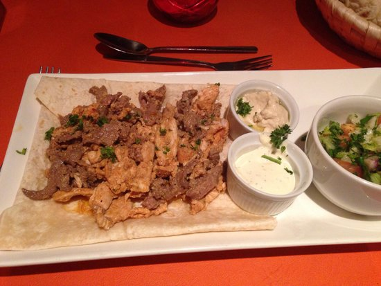 Arabesque: Beautiful meal