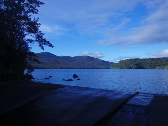 Brewster Peninsula Nature Trails: Lake Placid from Lakeshore trail