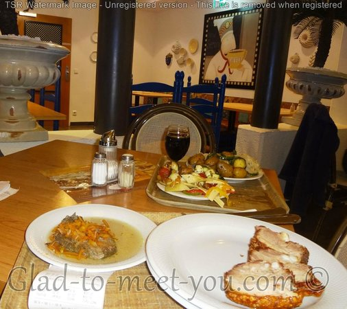 Rosenberger: Our tasty meal