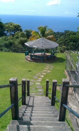 Trinidad and Tobago: Flagstaff hill, Tobago