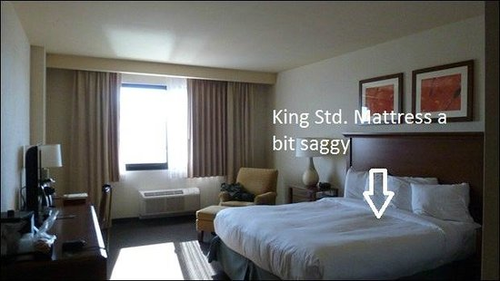 Quechan Casino Resort: room sixe std kng