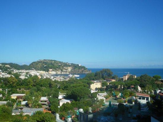 Villa Raffaela : la vue