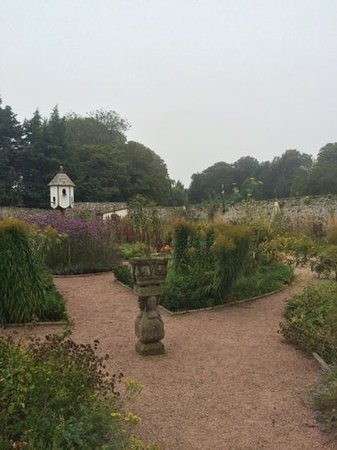Boath House: beautiful garden
