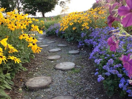 Trapp Family Lodge : a beatifully planted, colorful garden