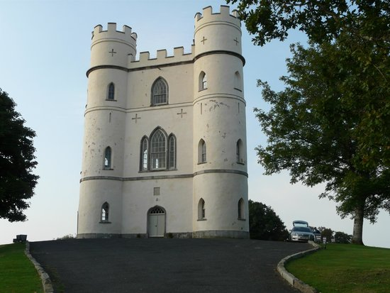 Haldon Belvedere (Lawrence Castle): Haldon Belvedere Castle at the top of the drive